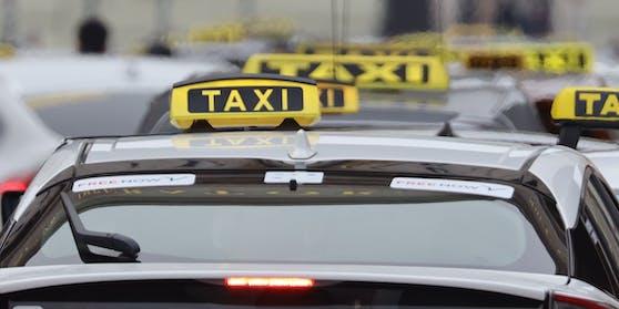 Taxis in Wien. Symbolbild