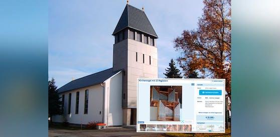 Niemand will die Kirchenorgel der Pfarre Rosenau kaufen.