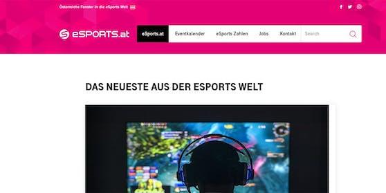 esports.at wird eingestellt.