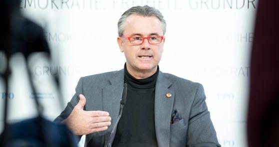 FPÖ-Chef Norbert Hofer spricht sich für rasche Impfungen aus.