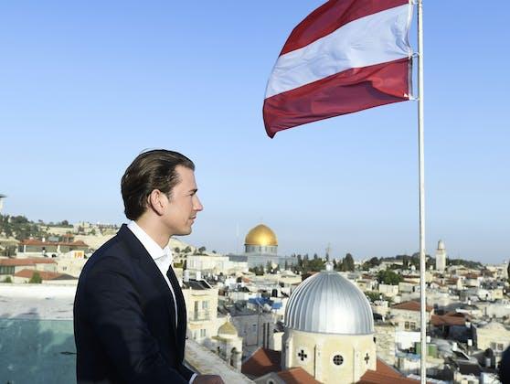 Bundeskanzler Kurz in Israel (2018)