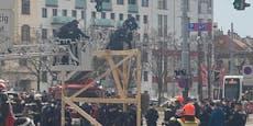 Wiener Gürtel wegen Demonstration gesperrt