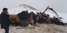 11 Tote nach Heli-Crash in der Türkei