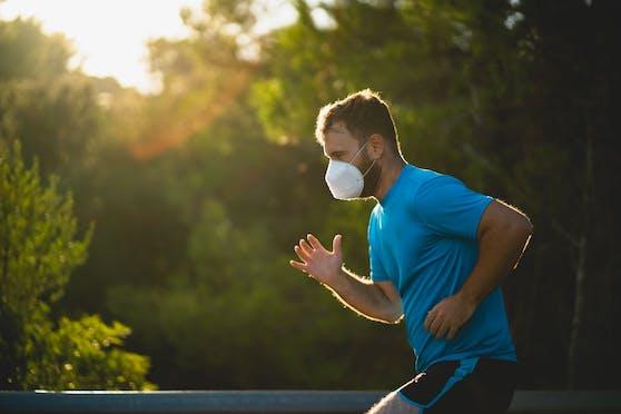Ein spezieller Maskenzwang für Jogger war bisher kaum ein Thema.