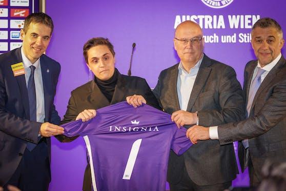 Die Austria-Partnerschaft mit der Insignia-Gruppe.