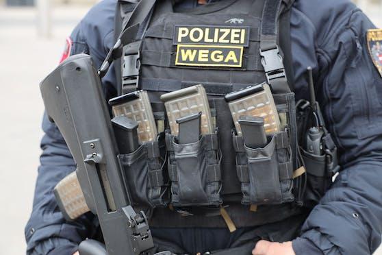 Beamte der WEGA konnten den Pistolenmann schließlich noch am Balkon festnehmen.
