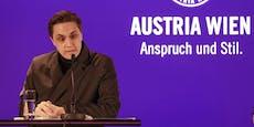 """Austria-Investor: """"Kenne kein besseres Team in Wien"""""""
