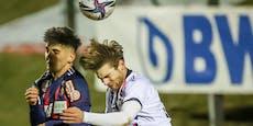 Rapid II kassiert Pleite, FAC punktet gegen Innsbruck