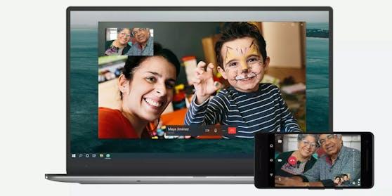 WhatsApp Videocalls auf Desktop