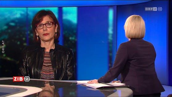 """Ursula Wiedermann-Schmidt in der ORF """"ZIB2"""""""