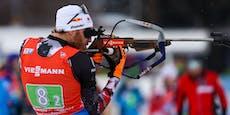 Biathlon-Herren verpassen Podest in der Staffel