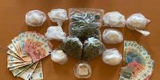 Drogen-Großhändler auf frischer Tat ertappt