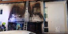 Zwei Verletzte bei Brand in einem Mehrparteienhaus
