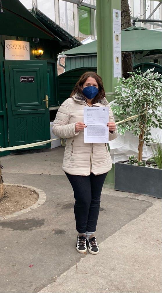 Nadine (31) mit Strafe in Baden