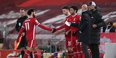 Historische Pleite für Klopp, Wechsel-Frust bei Salah