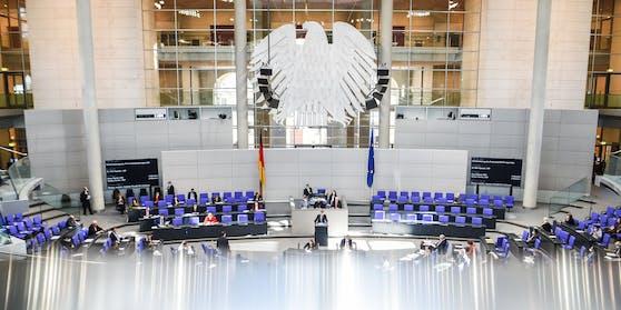 Der deutsche Bundestag am 5. März 2021