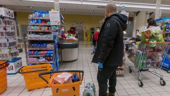 Supermarkt. (Symbolbild)