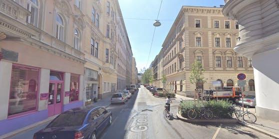 Die große Neugasse in Wien-Wieden