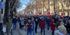 """""""Sieg Heil""""-Rufe bei Corona-Demo in jüdischem Viertel"""
