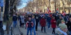 WEGA, Sperre durchbrochen: Demo-Chaoten legen City lahm