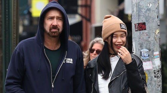 Nicolas Cage hat seiner Verlobten Riko Shibita in Las Vegas das Jawort gegeben. Für den Filmstar ist es inzwischen die fünfte Ehe.
