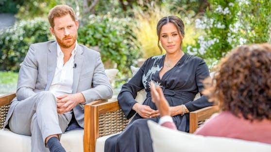 Prinz Harry und Herzogin Meghan sprechen mit Talkqueen Oprah Winfrey über ihr neues Leben und ihre Vergangenheit am britischen Königshof.