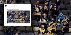 NHL-Klub gibt Fälschung bei diesem Twitter-Foto zu