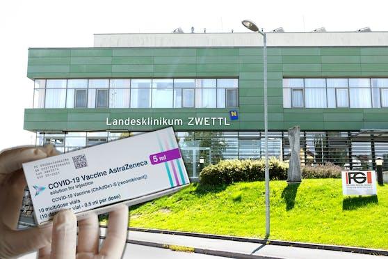 Nach einer AstraZeneca-Dosis im Landesklinikum Zwettl kam es zu einem Todesfall.