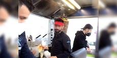 Kebabstand streamt Missachtung von Corona-Regeln live