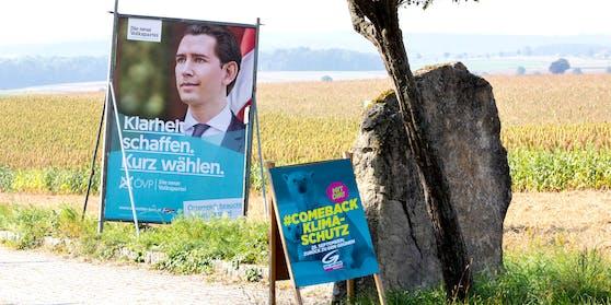 Wahlplakate 2019