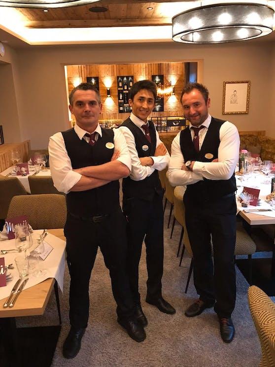 Abdullah mit Gastro-Kollegen