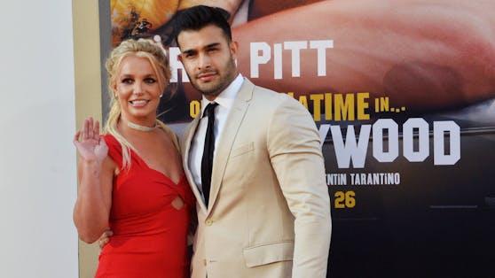 Britney Spears und Sam Asghari sind seit 2016 ein Paar.