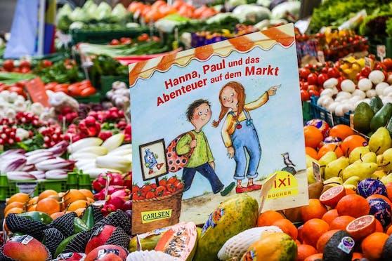 Das neue Pixi-Buch erklärt den Tierschutz auf Wiens Märkten und bietet Wissenswertes zum Thema Essen.