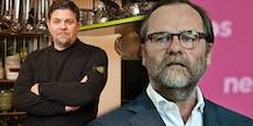 """Neos-Mann schimpft Mälzer im TV: """"Du bist a Oaschloch!"""""""