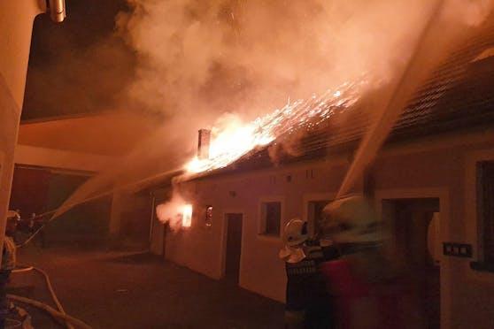 Großbrand in Thuma