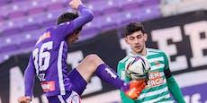 0:0 – Rapid vergibt späten Sieg gegen die Austria