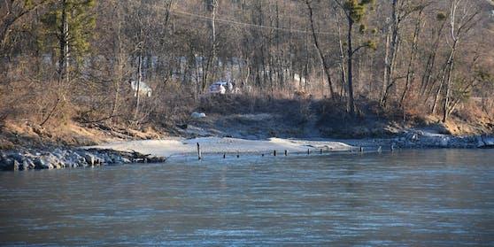An dieser Stelle in Münster (Tirol) wurde die Leiche der Frau gefunden.