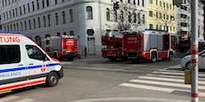 Flammen in Brigittenauer Wohnung– Feuerwehr rückt aus