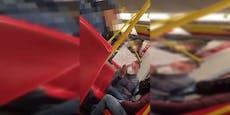 Corona-Demonstranten provozieren in den Öffis weiter