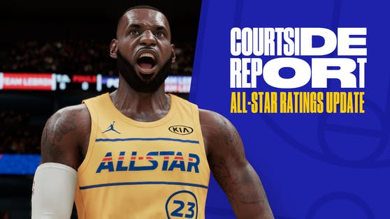 NBA All-Star Weekend NBA 2K21 Courtside Report.