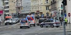 72-jähriger Motorradfahrer bei Unfall in Wien verletzt