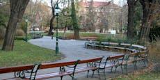 Pärchen in Wiener Stadtpark mit Waffe bedroht