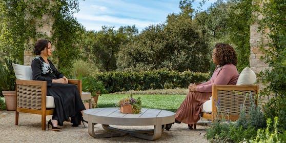 Herzogin Meghan sprach in ihrem TV-Interview mit Oprah Winfrey auch über das zerrüttete Verhältnis zu ihrem Vater.