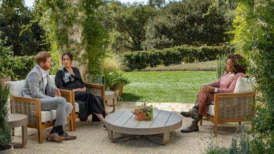 Vor einem Millionenpublikum erzählten Prinz Harry und Herzogin Meghan bei Oprah Winfrey über ihre schwere Zeit am britischen Königshof.