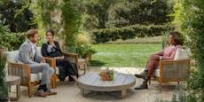 Alle wollen den Gartenstuhl auf dem Meghan saß
