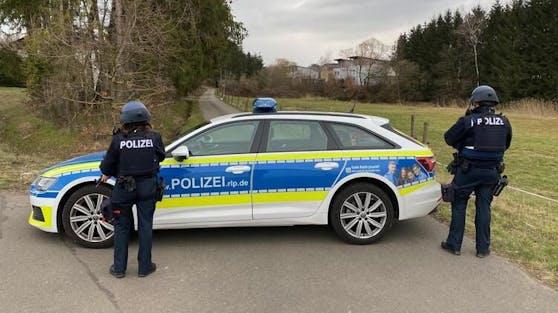 Polizeieinsatz in Kaiserslautern (Rheinland-Pfalz)