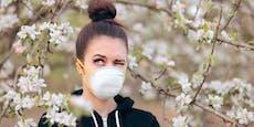 Bringen die Pollen mehr Coronafälle?