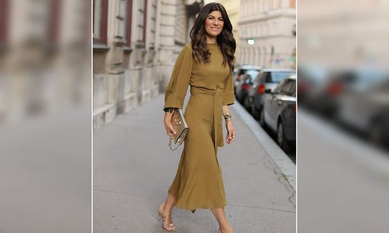 Die wiener Influencerin Sylvie Utudjian unterstützt heimische Stores via Instagram.