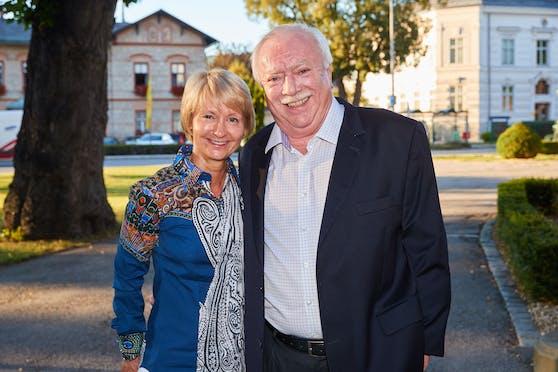 Barbara Hörnlein und Michael Häupl
