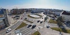 Umgestaltung des Europaplatzes in St. Pölten startet